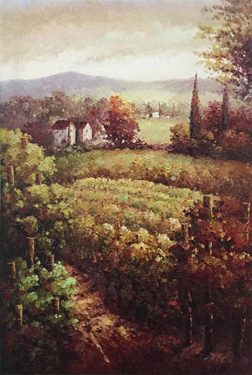 Vineyard View II by Topaz, Overview