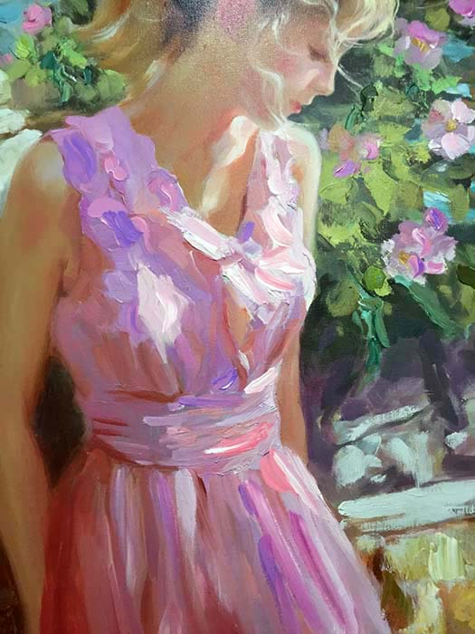 Afternoon Sunshine by Vladimir Volegov, Detail