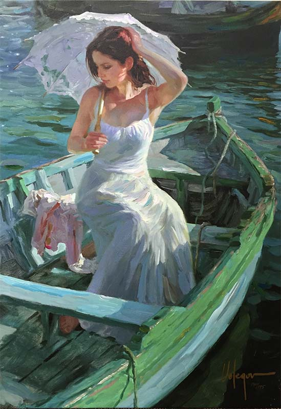 Lakeside Reflection by Vladimir Volegov, Overview