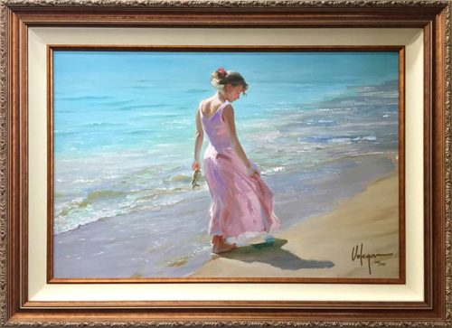 Pretty in Pink by Vladimir Volegov, Frame
