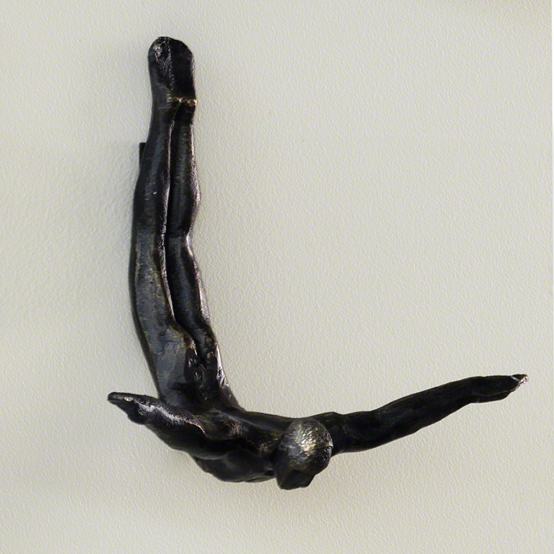 Wall Diver Sculpture - 8.81261, View 1