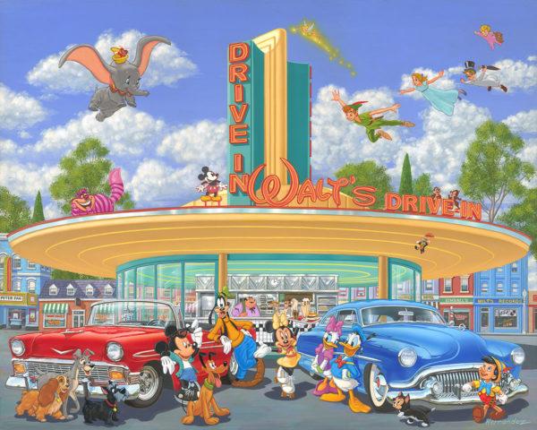 Walt's Drive-In by Manuel Hernandez