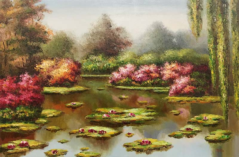 Water Lilies II by Mulio, Overview