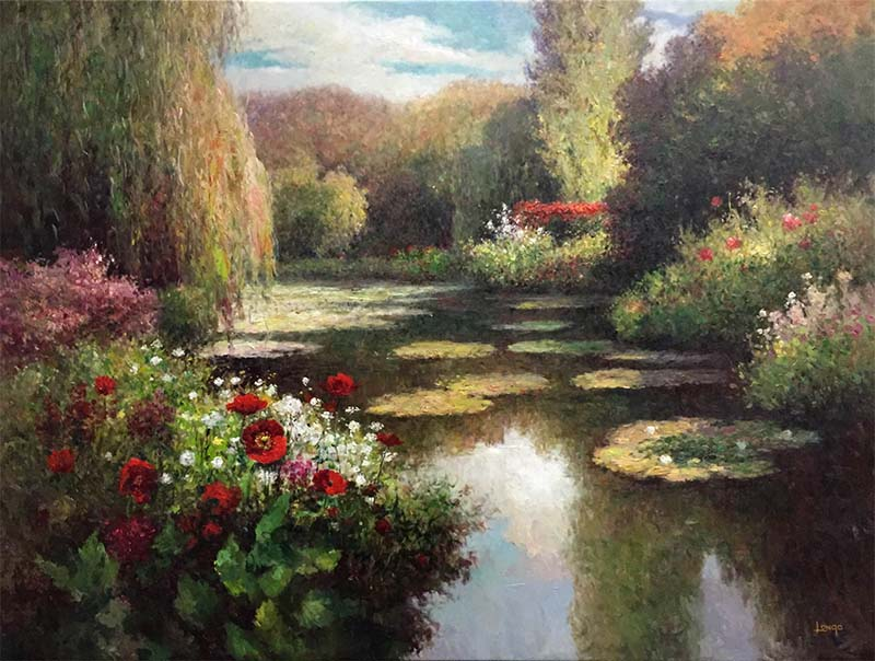 Weeping Willow River by Longo, Overview
