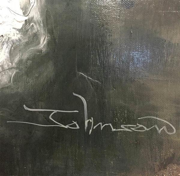 White Dress by Johnson, Signature