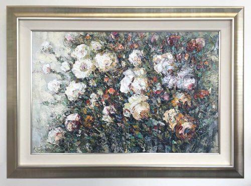 White Roses by Konstantin Savchenko