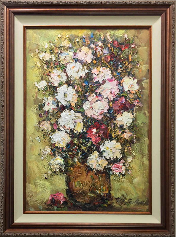 Rose Bouquet by Konstantin Savchenko, Framed