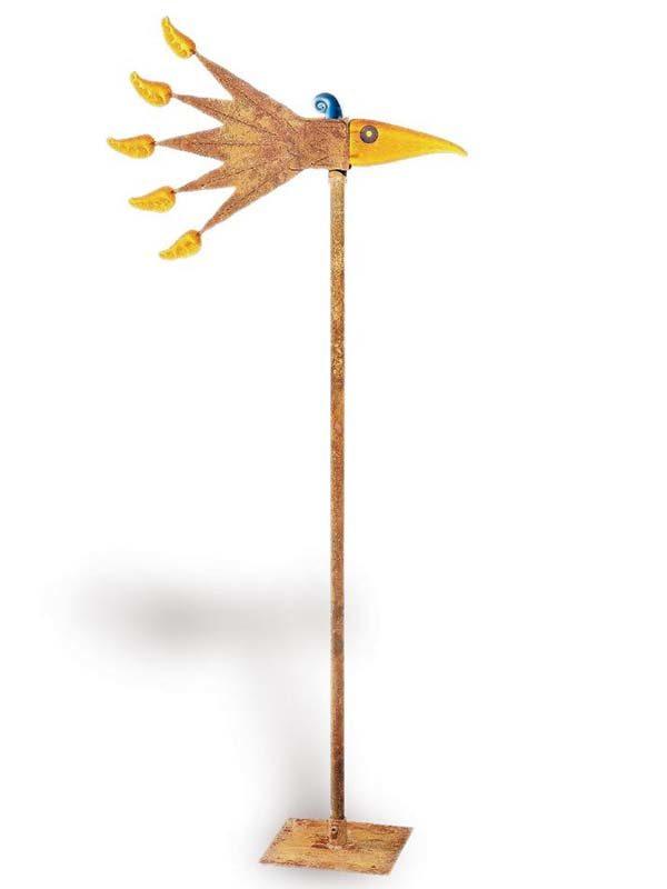Windbird Wind Chime Outdoor Sculpture