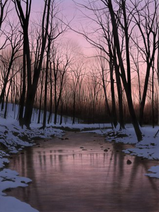 Winter Nightfall - Limited Edition