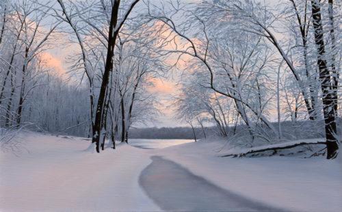Winter's Farewell by Alexander Volkov
