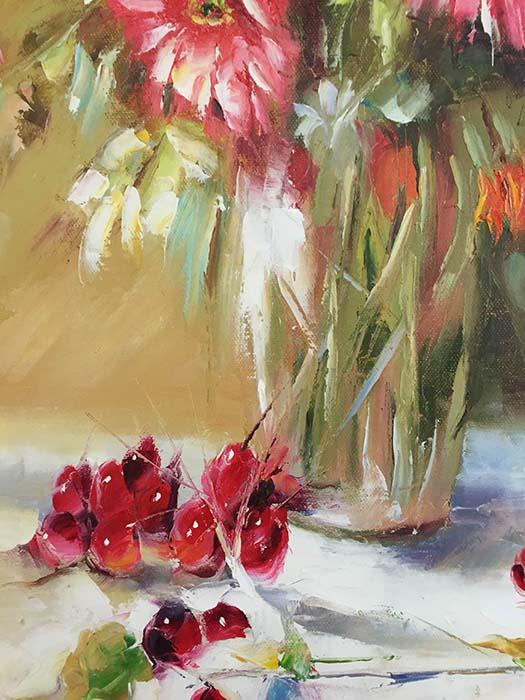 Zienna Bouquet by C. Roman, Detail