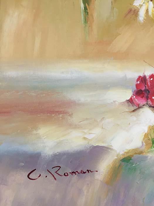 Zienna Bouquet by C. Roman, Signature