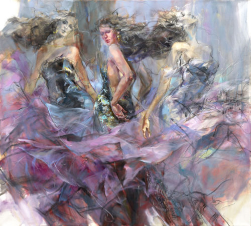 """Timeless Journey"" by Anna Razumovskaya at Art Leaders Gallery, voted ""Michigan's Best Fine Art Gallery"" is located in the heart of West Bloomfield. This full service fine art gallery is the destination for all your art and custom picture framing needs. Our extensive inventory of art includes styles ranging from contemporary to traditional. The gallery represents international, national and emerging new talent as well as local Michigan artists."