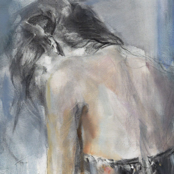 """""""The Time Between"""" by Anna Razumovskaya at Art Leaders Gallery, voted """"Michigan's Best Fine Art Gallery"""" is located in the heart of West Bloomfield. This full service fine art gallery is the destination for all your art and custom picture framing needs. Our extensive inventory of art includes styles ranging from contemporary to traditional. The gallery represents international, national and emerging new talent as well as local Michigan artists."""