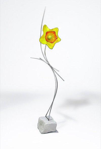 Floor Sundancers by Andrew Madvin, Yeloow Flower