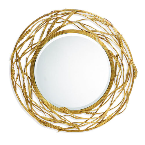 Wheat Mirror, Item #411658 by Michael Aram