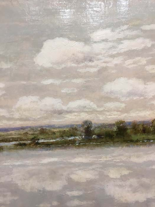 A Peaceful Day III by R. Scott, Detail