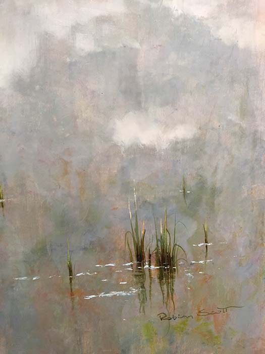 A Peaceful Day IV by R. Scott, Signature
