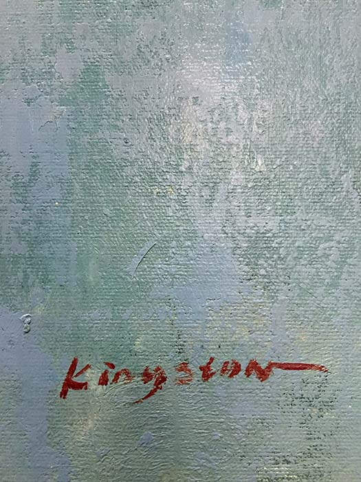 A Sense of Space by Kingston, Signature