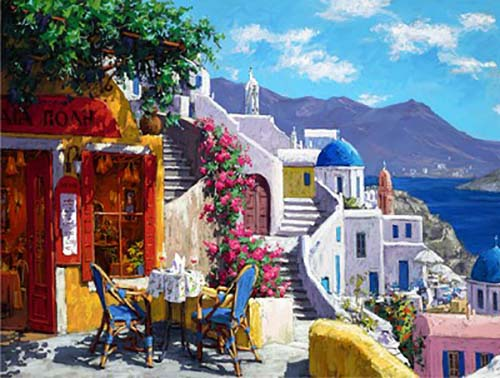 Afternoon on the Aegean Sea - Limited Edition