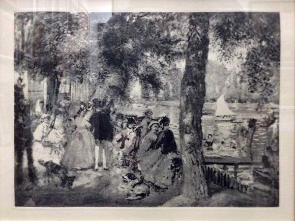 Pierr-Auguste Renoir - Afternoon in the Park, Image