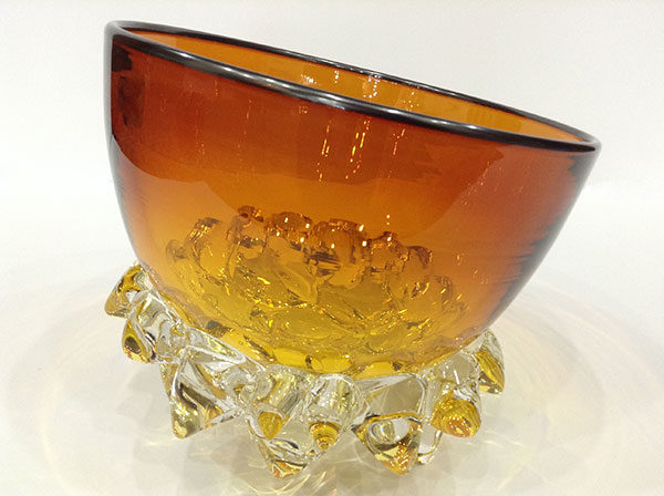 Amber Thorn Bowl by Andrew Madvin