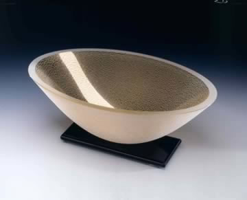 "Artifact Oval Bowl, 12"" by Stephen Schlanser"