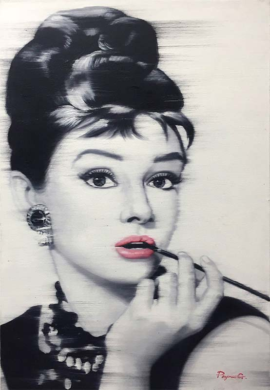 Audrey Hepburn by Payne G., Overview