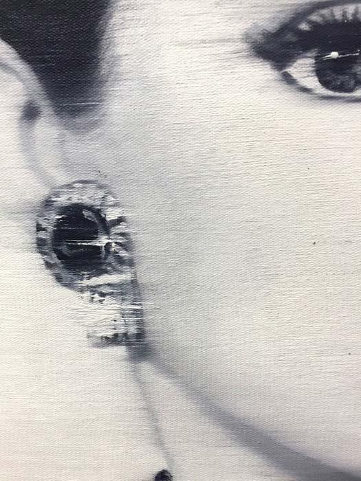 Audrey Hepburn by Payne G., Detail