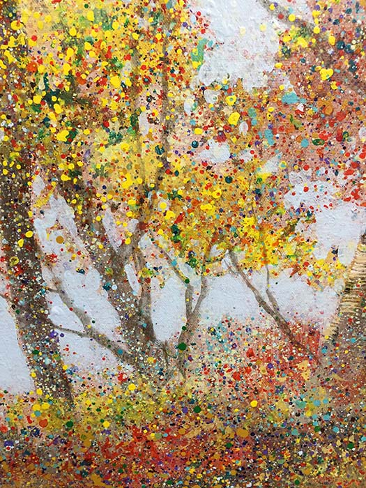 Autumn Delight I by Tiboli, Detail