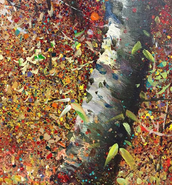 Autumn Delight II by Tiboli, Detail