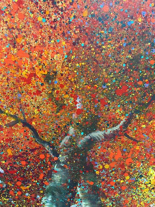 Autumn Delight II by Tiboli, Detail