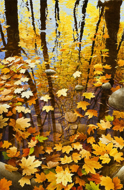 Autumn Leaves II by Alexander Volkov
