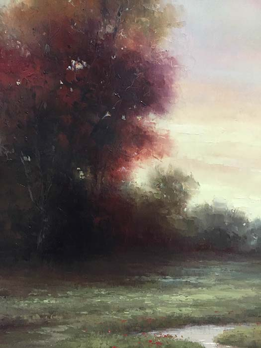 Autumn Mist I by Adam S., Detail