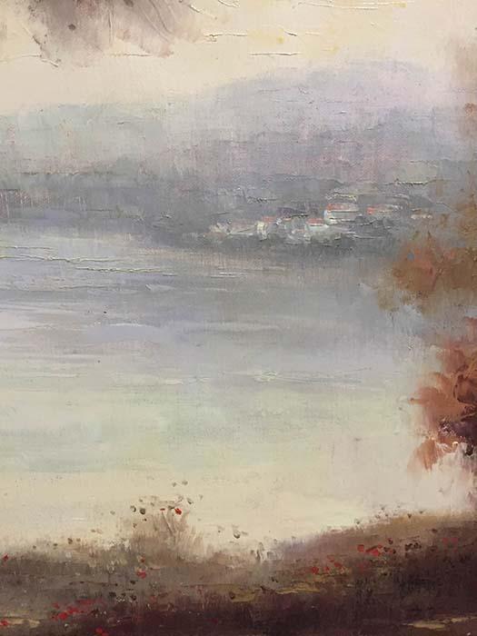 Autumn Mist II by Adam S., Detail