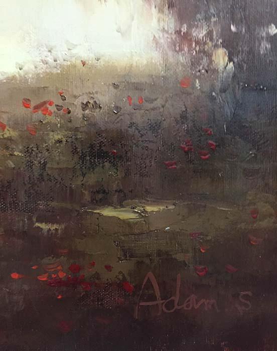Autumn Mist II by Adam S., Signature