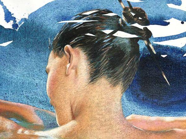 Awakening by Pedro Velver, Detail