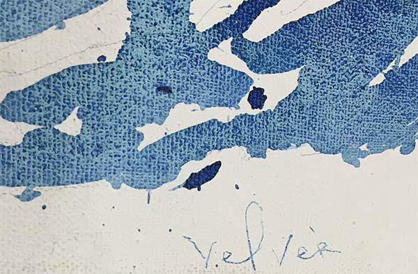 Awakening by Pedro Velver, Signature