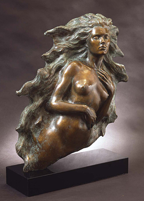 Awakening of Eve - Bronze Sculpture