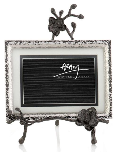 Black Orchid Easel Frame, Item #110720 by Michael Aram