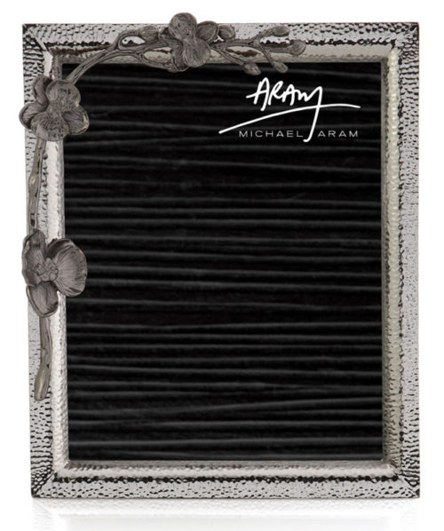 Black Orchid Frame - 8x10, Item #110736 by Michael Aram