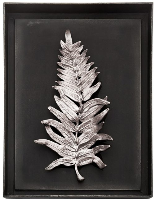Fern Shadow Box - Antique Nickel, Item #176064 by Michael Aram