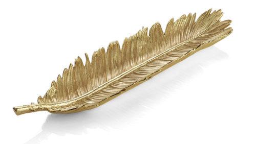New Leaves Sago Palm Bread Plate, Item #175656 by Michael Aram