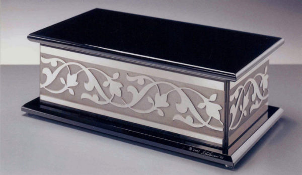 Le Jardin Chest by Stephen Schlanser at Art Leaders Gallery - Michigan's Finest Art Gallery