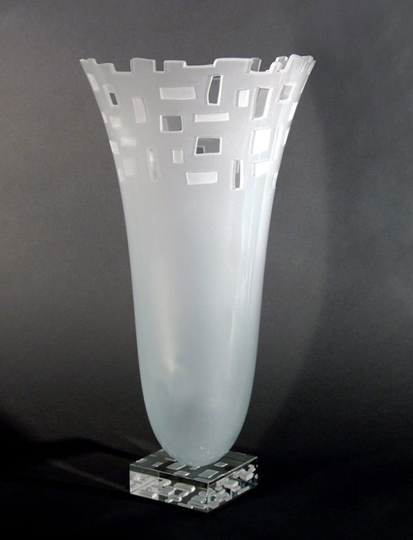 Loft Vase by Stephen Schlanser at Art Leaders Gallery - Michigan's Finest Art Gallery