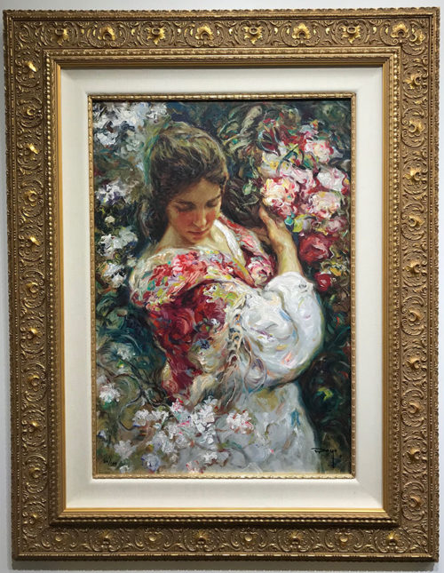 "Primavera by Jose Royo at Art Leaders Gallery, voted ""Michigan's Best Fine Art Gallery"" is located in the heart of West Bloomfield. This full service fine art gallery is the destination for all your art and custom picture framing needs. Our extensive inventory of art includes styles ranging from contemporary to traditional. The gallery represents international, national and emerging new talent as well as local Michigan artists."
