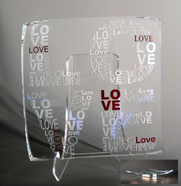 True Love 1 Platter by Stephen Schlanser at Art Leaders Gallery - Michigan's Finest Art Gallery