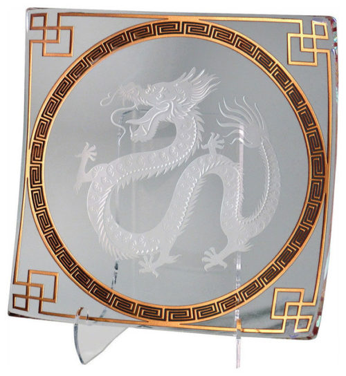 Year of the Dragon Platter by Stephen Schlanser at Art Leaders Gallery - Michigan's Finest Art Gallery