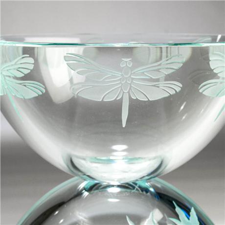 "Dragonfly Bowl, 7"" by Stephen Schlanser"