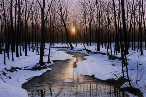At The Close of Day (XL) by Alexander Volkov - Limited Edition